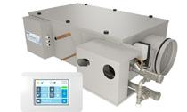 Приточная установка Breezart с водяным калорифером для коттеджа