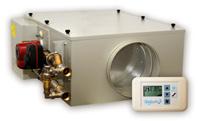 Приточная установка Бризарт с водяным калорифером для коттеджа