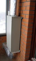 Приточная установка для вентиляции квартиры
