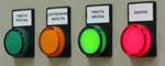 Индикаторы на базе светодиодных матриц