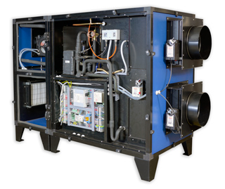 Приточно-вытяжная установка Breezart с тепловым насосом