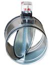 Воздушный клапан с электроприводом
